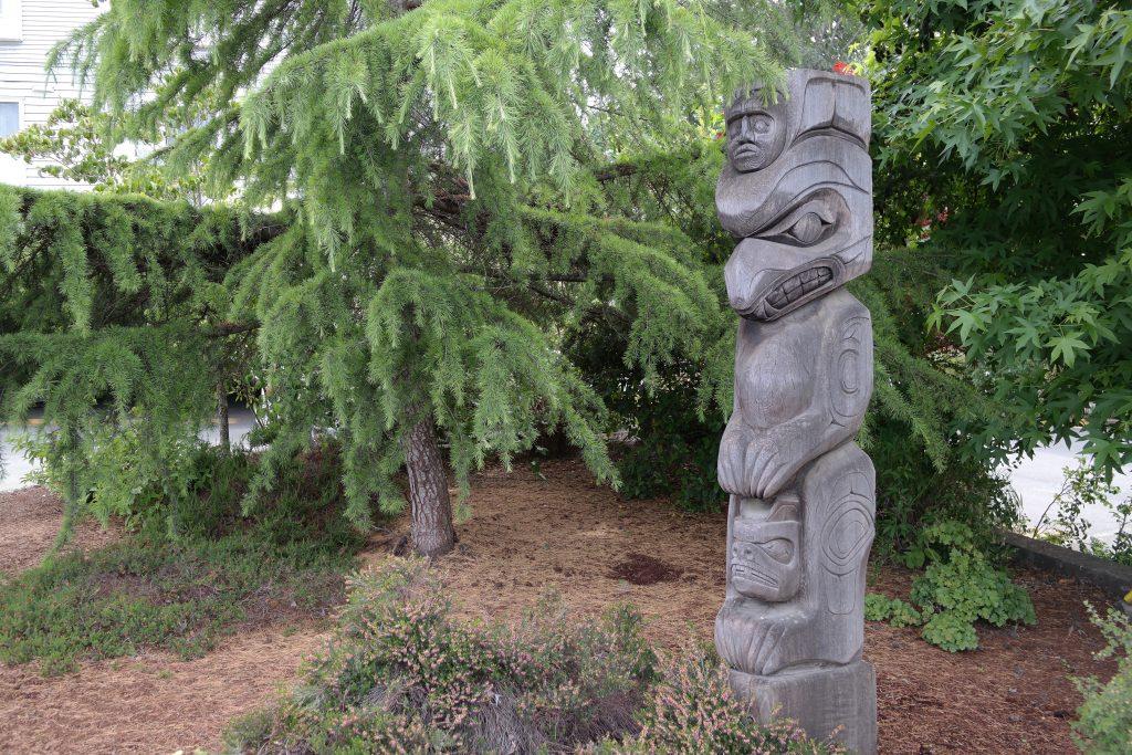 Cowichan Totem Pole, Duncan BC